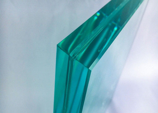 Sound Control Tempered Laminated Safety Glass 0.38PVB+8mm CE / ISO Certificate